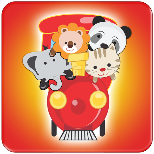 Animal Train for Kids Games