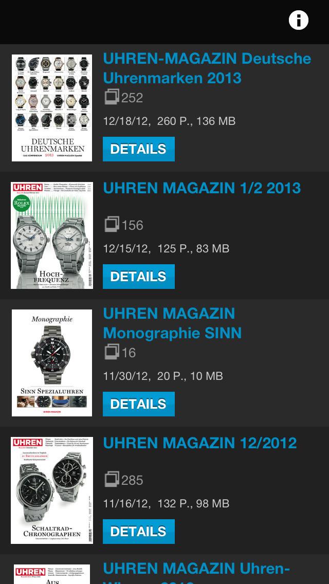 Avira AppStore - Uhren-Magazin